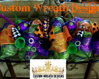 Whimsical Halloween Tabletop Centerpiece