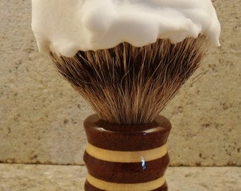 Shave Brush Free Engraving Limited edition
