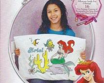 Ariel Crayon Pillowcase Kit by Janlynn