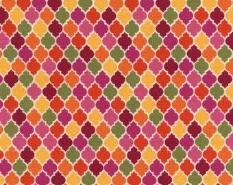 Timeless Treasures - Moroccan Tile in Multi - Tribeca - 1 yard