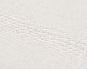 Linen fabric Off white color Soft certified linen fabric by half yard