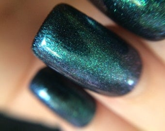 Nebulous Maximus Chromatic Top Coat Nail Polish by Comet Vomit