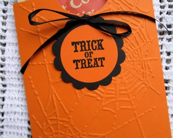 Halloween Hot Chocolate or Cider Pocket Party Favors