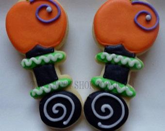 Pumpkin Baby Rattle cookies 2 dozen