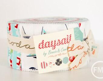 Daysail Jelly Roll, Bonnie and Camille, Precut 2.5 Inch Fabric Strips, Moda Fabrics, 55100JR