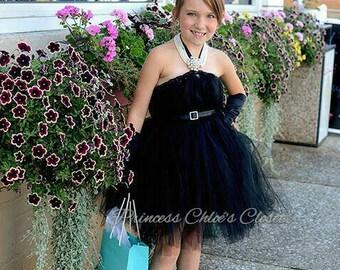 Couture black dress