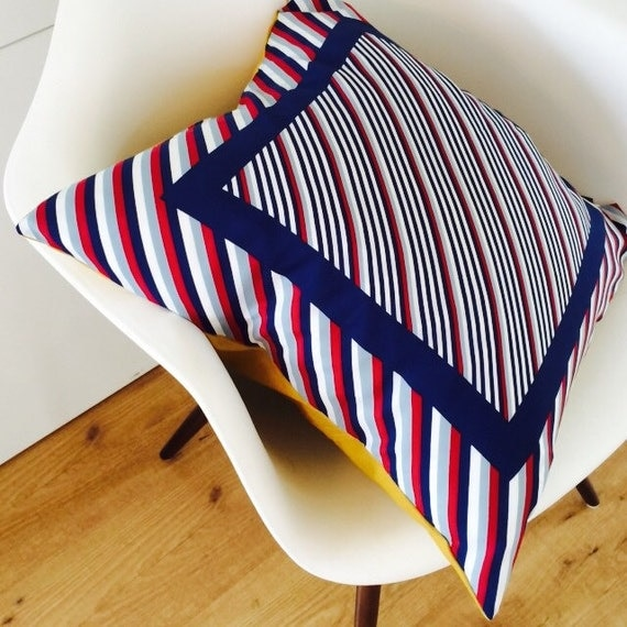 Mid Century Modern Pillow Covers : Mid Century Pillow Cover 20x20 Cushion Nautical