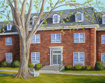 Fine Art Print- Kirtley Hall, Historic Judson College, Marion, Alabama