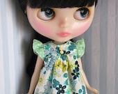 Full of Flowers summer dress for Blythe