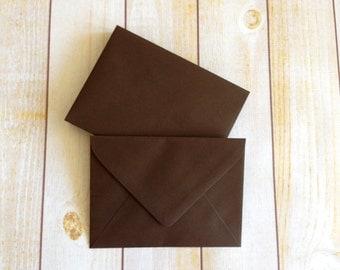 A7 Envelopes 5x7 Coco Brown - 25 quantity