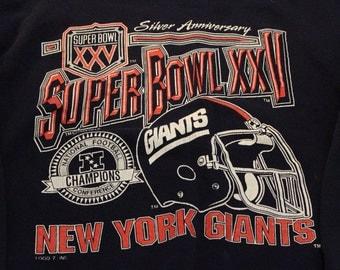 Vintage New York Giants Super Bowl Champions
