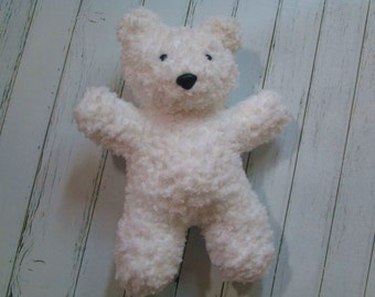 Teddy Bear Toy Lovie Stuffie Photo Prop Baby Shower- One size- Choice of Color
