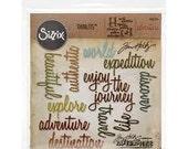 ADVENTURE - Sizzix Thinlits Dies by Tim Holtz - 660224