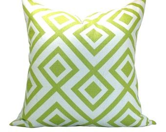 La Fiorentina pillow cover in Lime