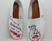 Invisible Monsters & Fight Club TOMS Shoes
