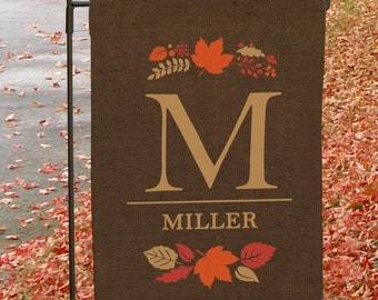 Personalized Autumn  Double-sided Garden Flag -gfy83095992DS