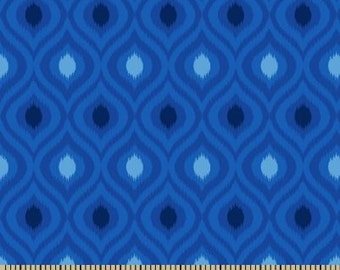 Custom for Mary - 06312 -  Springs Creative Products Quilting Basics Ikat  in blue - See below:
