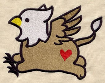Too Cute Griffins Embroidered Flour Sack Hand/Dish Towel