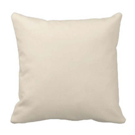 100 14x14 Wholesale Blank Solid Ivory Pillow Covers For