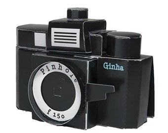 Ginha paper camera diy