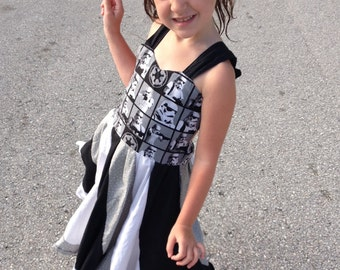 Twirly Sundress Made With Stormtrooper Fabric