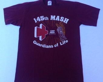 1980's 145th MASH t-shirt, large
