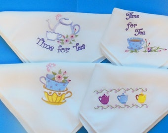 Dainty Tea Time Napkin Set