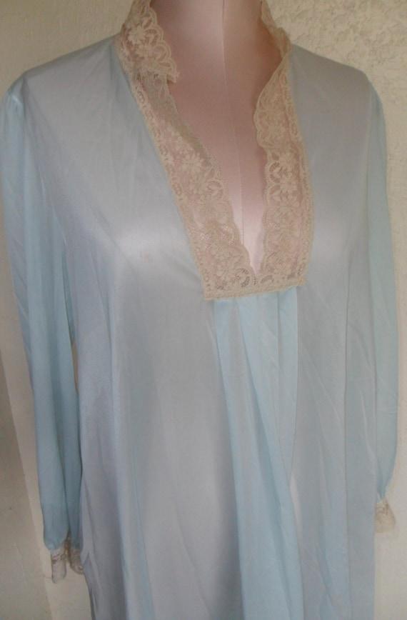 Vintage Nightgown Baby Doll Nightie Vanity Fair 1970 S