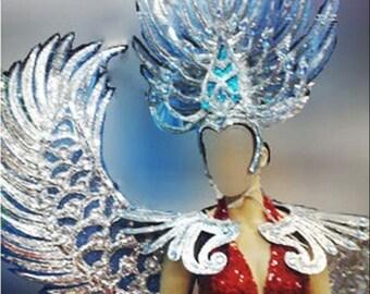 Da NeeNa Dance Burlesque Blue Angel Victoria Secret Wings Only