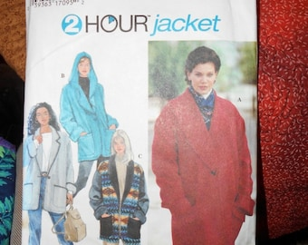 Simplicity 9744 Womens 2 Hour Jacket Pattern Womens sizes XS-S-M