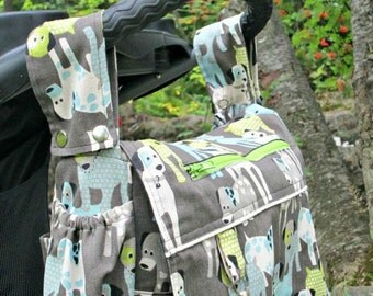 ON SALE!  XL Diaper Bag with Stroller Straps