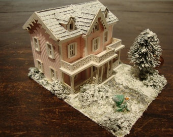 dollhouse miniature 1/144th Christmas home