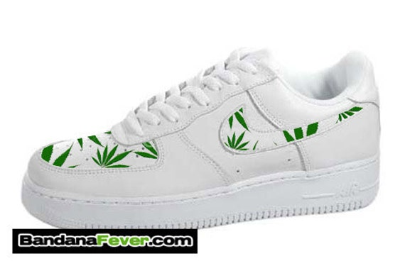 Weed Leaf Nike Shoes