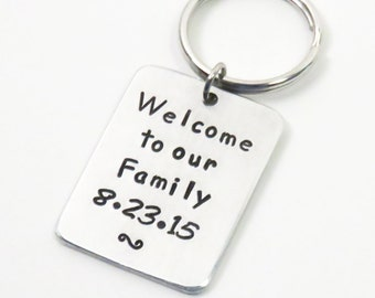 Wedding Gift For Sister Cash : ... gift to step brothers step sisters - keychain wedding gift for in-laws