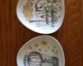 Rosenthal peynet plates, vintage
