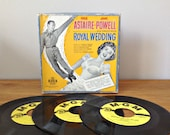 Astaire & Powell Royal Wedding 45 Record Box Set