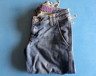 VINTAGE - Cropped Jeans - LTB by Little Big - Low Rise - SZ: 26
