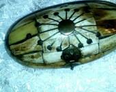 Antique Camel Bone Jewelry or Trinket Box