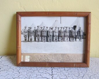 Original WW1 Aviation 514th Observation Squadron Black & White Photograph ~ Unique Gift Idea for Pilots, Original Airplane Decor Decorations
