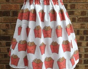 Kawaii Fries Skirt