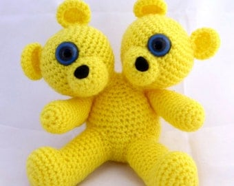 Crocheted Two Headed MutaTED™