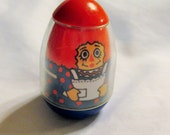Vintage Raggedy Ann Weeble Wooble 1970s toy Bobbs Merrill Co.~Rare Vintage Toy