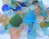 SANDRA'S VARIETY MIX Sea Glass Beach Glass Nautical Beach Decor Crafts Weddings