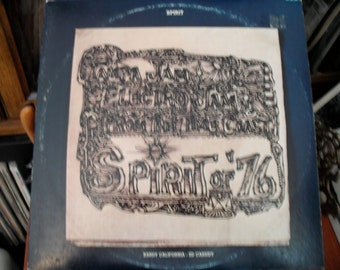 Spirit Spirit Of 76 On  Mercury Records Double LP 1975