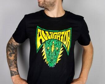 Medium ALLIGATOR Grateful Dead 13 Bolt T-Shirt
