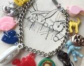 Charm Bracelet , Cracker Jack charms