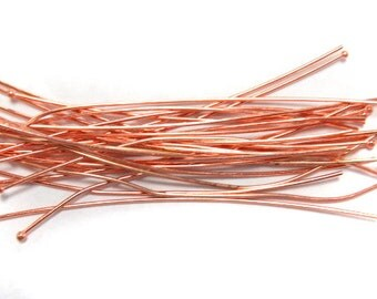 Copper headpins