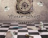 Custom Etsy Shop Banner Set (Premade) - Wonderland