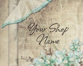 Basic Custom Etsy Shop Banner Set (Pre-made) - Parasol