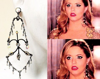 As Seen On Pretty Little Liars Lucy Hale Black Spider Lg
